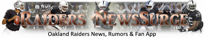 Oakland Raiders News Surge Banner